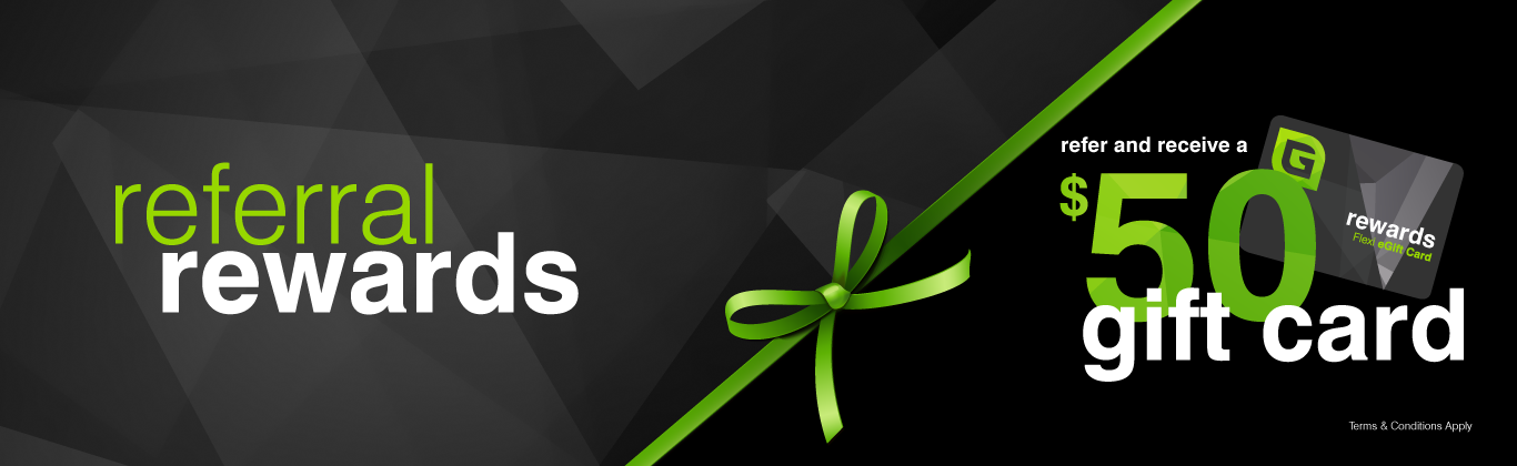 Referral Rewards awards awards customers who refer Grasshopper with a $50 eGift Card